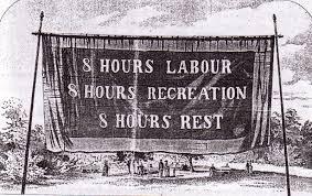8 hours labour